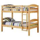 Walker Edison Solid Wood Bunk Bed - Neutral (Twin)