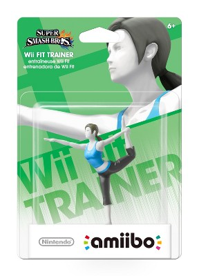 Nintendo Wii Fit Trainer amiibo Figure