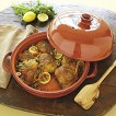 "Andrew Zimmern 13"" Glazed Ceramic Tagine - Terracotta"