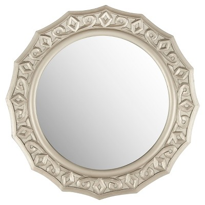 Safavieh Gossamer Lace Mirror Pewter