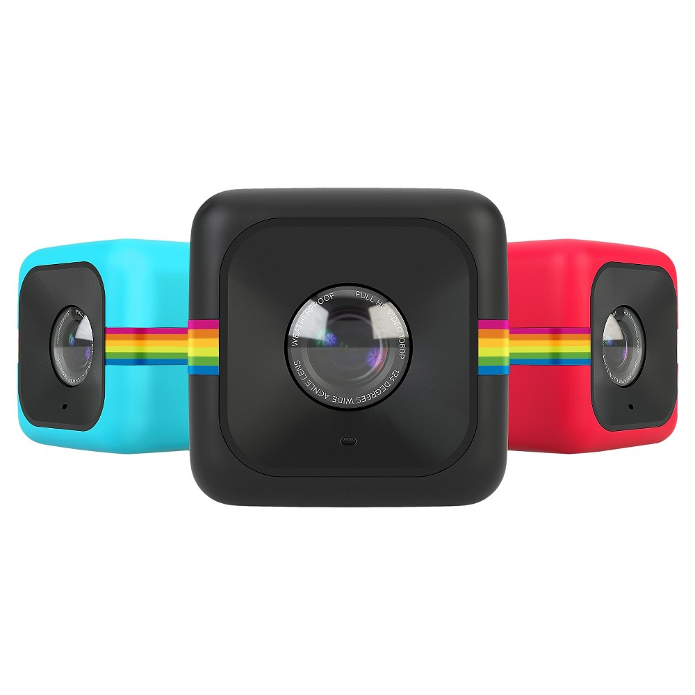 Polaroid Cube Lifestyle Action Camera, Multi-Colored