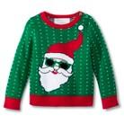 Infant Toddler Boys' Cool Santa Ugly Christmas Sweater