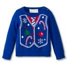 Infant Toddler Boys' Pseudo Vest Ugly Christmas Sweater