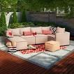 Threshold™ Lynnhurst 5-Piece Upholstered Patio Sectional Seating Set
