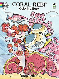 Dover Nature Coloring Book: Coral Reef by Ruth Soffer (Paperback)