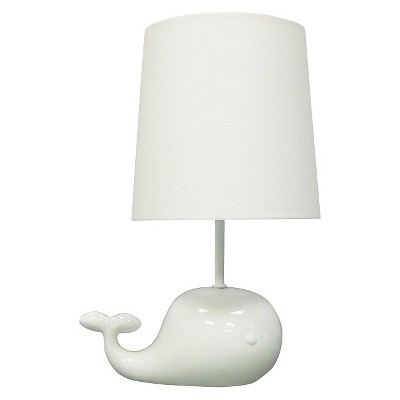 Circo™ Ceramic Table Lamp & Shade - Whale (without bulb)