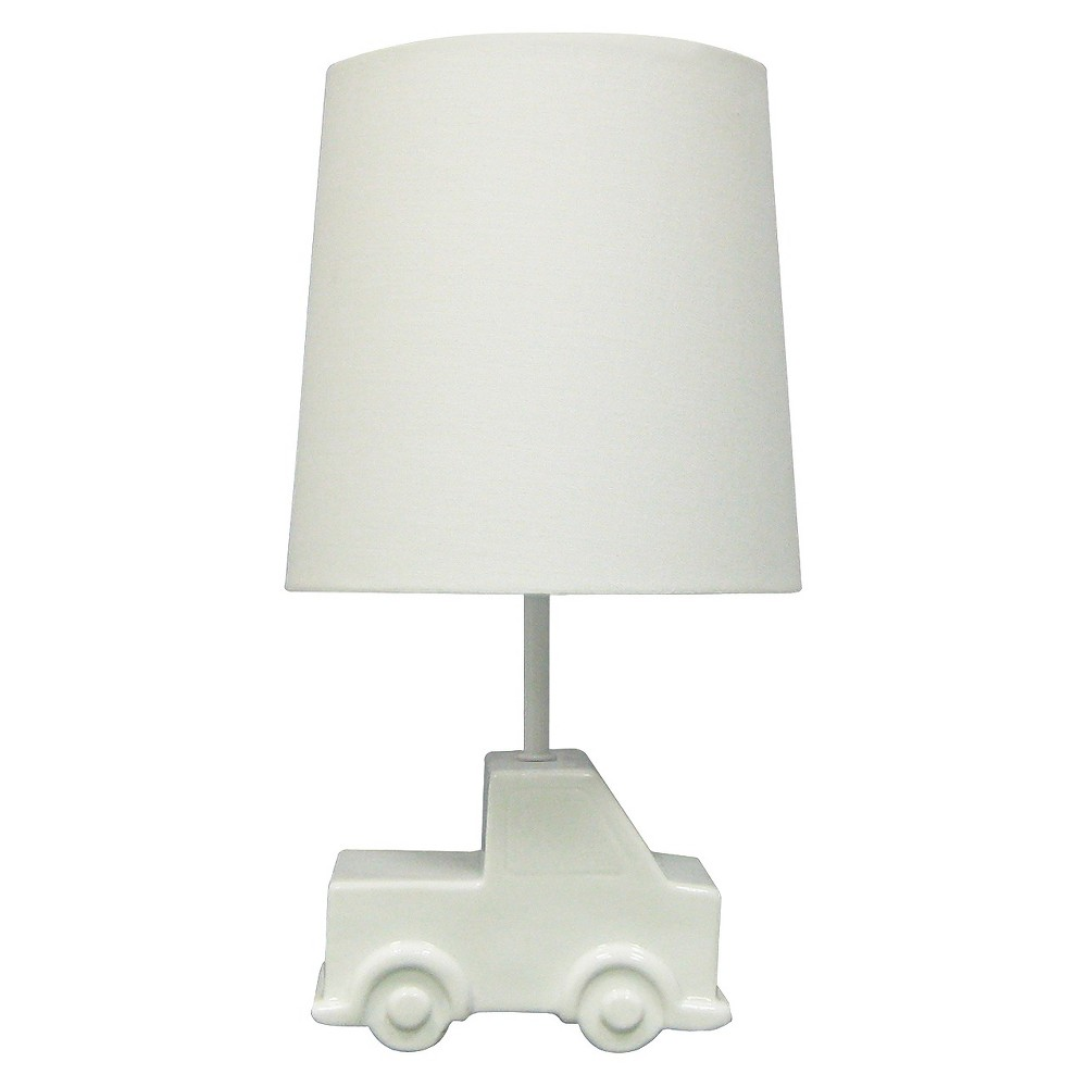 Circo Ceramic Table Lamp & Shade - Truck (without bulb)
