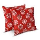 Room Essentials™ 2 Pk Polka Dots Toss Pllows - Coral