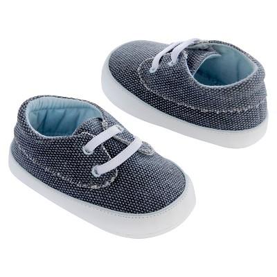Newborn Boys' Canvas Sneakers - Navy 0-3 M