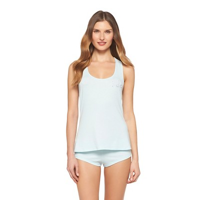 Women's Cami and Shorts Set Turquoise Feather - Gilligan & O'Malley®