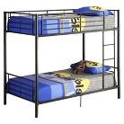 Metal Bunk Bed (Twin)