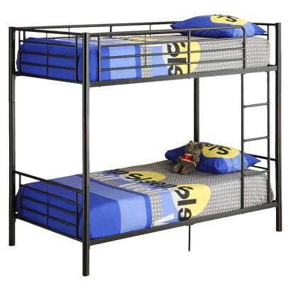 Metal bunk bed twin target for Target loft bed