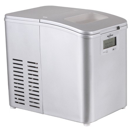 Countertop Ice Maker At Target : Product description page - Koolatron Stainless Steel Ice Maker