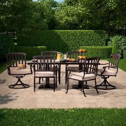Premium Kentfield Metal Patio Dining Furniture C Tar