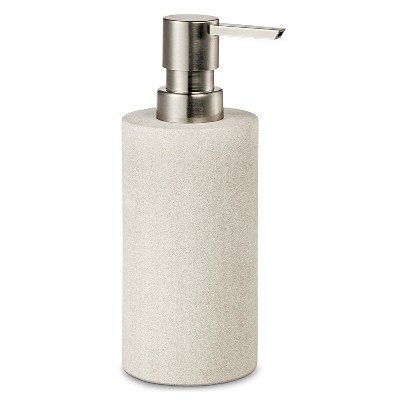 Threshold™ Sandstone Soap/Lotion Dispenser - Off White