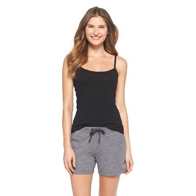Women's Knit Sleep Cami with Built-In Bra Black XL - Gilligan & O'Malley™