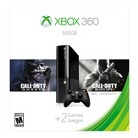Xbox 360 500GB Console Bundle with Call of Duty: Back Ops II and Ghosts