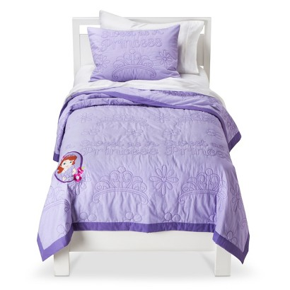 Sofia the First Quilt Set - Purple