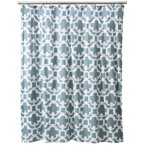 threshold home grid shower curtain product details page