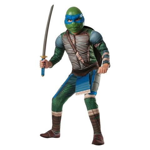 Men's Teenage Mutant Ninja Turtle Movie Leonardo Costume