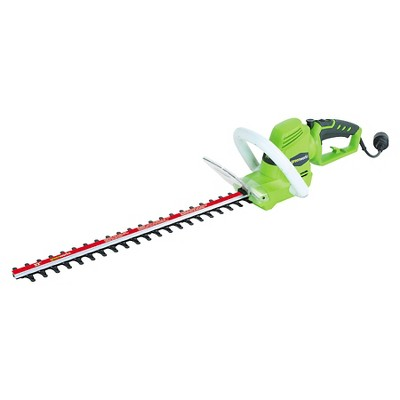 "Greenworks Electric 4 Amp 22"" Hedge Trimmer"
