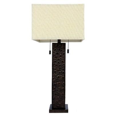 j hunt diesel finish table lamp target. Black Bedroom Furniture Sets. Home Design Ideas