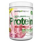 Purely Inspired 100 % Plant Based Protein Nutritional Very Berry Shake - 1.5 lbs