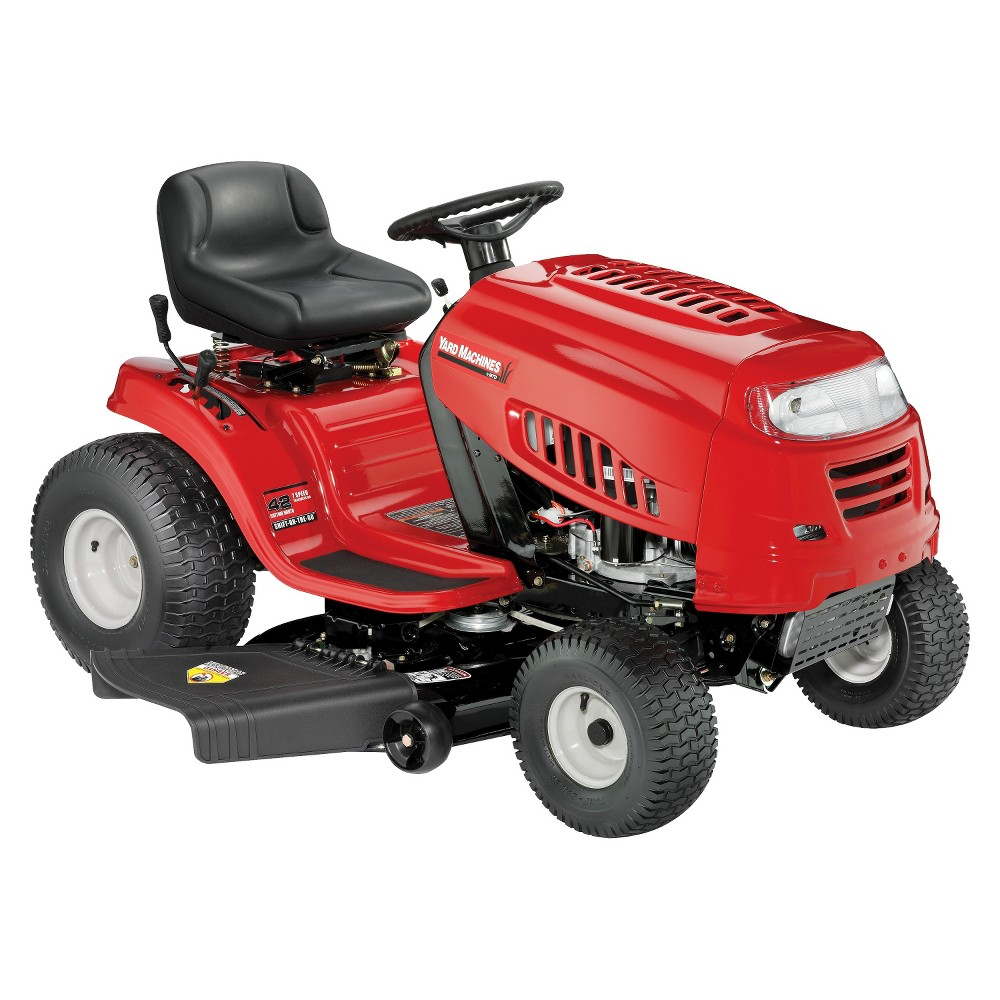 16 Mtd Tractor : Upc yard machines quot cc mtd powermore