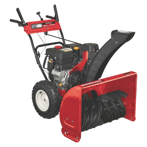 yard machine snow thrower manual