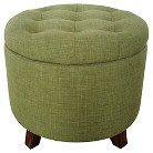 Threshold™ Tufted Round Storage Ottoman - Milford Grass