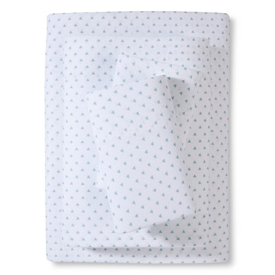 Jersey Sheet Set - Aqua (Full) - Room Essentials™