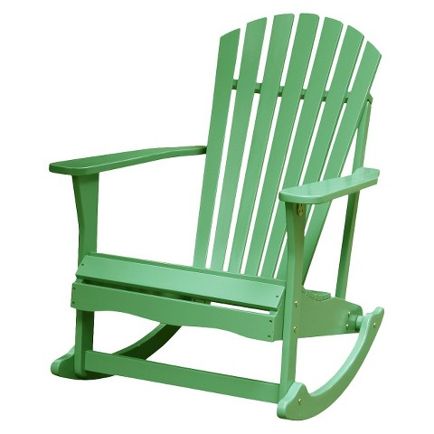 International Concepts Adirondack Rocking Chair Tar