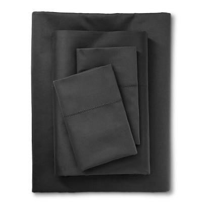 Egyptian Cotton 600 Thread Count Sheet Set - Essential Gray (Full) - Fieldcrest™