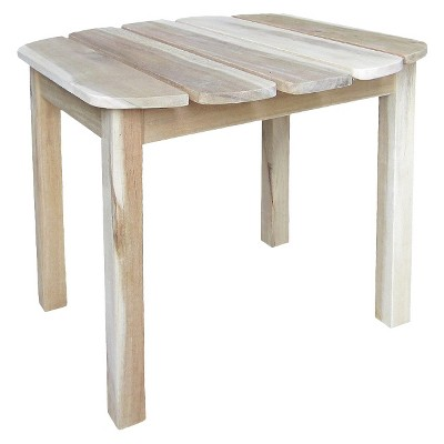 International Concept Accent Side Table - Driftwood