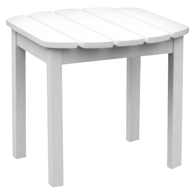 International Concept Accent Side Table - White
