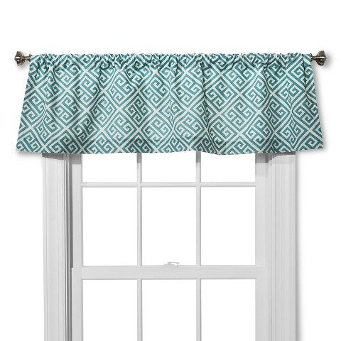 Threshold Greek Key Window Valance Target
