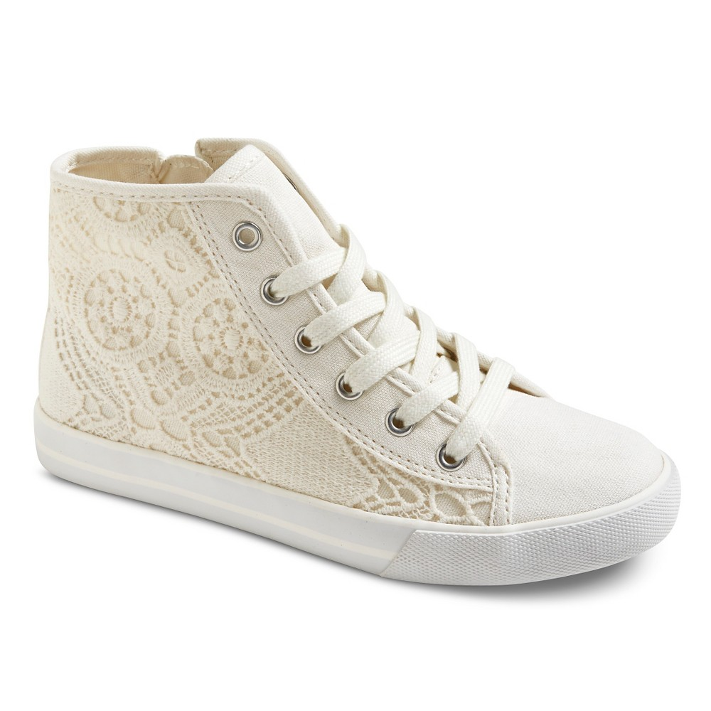 Crochet High Top Sneakers Free Pattern : CIRCO GIRLS BRENNA CROCHET HIGH TOP SNEAKERS