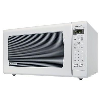 Panasonic 2.2 Cu. Ft. 1250 Watt Genius Sensor Microwave Oven - White NN-SN933W