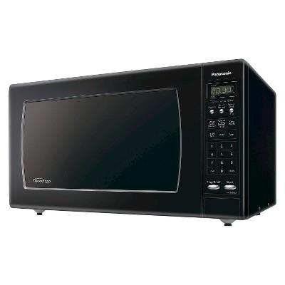 Panasonic 2.2 Cu. Ft. 1250 Watt Genius Sensor Microwave Oven - Black NN-SN933B