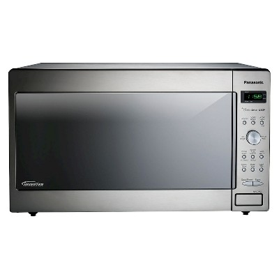 Panasonic 1.6 Cu. Ft. 1250 Watt Genius Sensor Microwave Oven - Stainless Steel NN-SD-772S