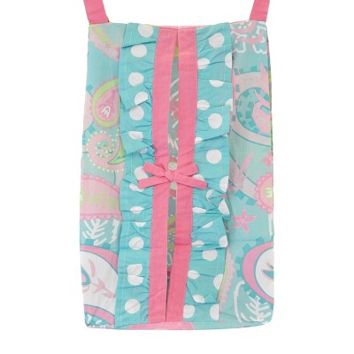 My Baby Sam Pixie Baby Diaper Stacker Aqua