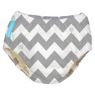 Charlie Banana Training Pant - Grey Chevron (Select Size)