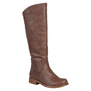 Women's Journee Collection Slouchy Round Toe Boots