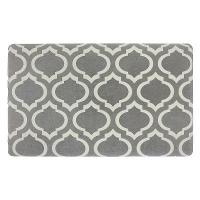 Threshold™ Fretwork Rejuvenation Comfort Mat - Gray