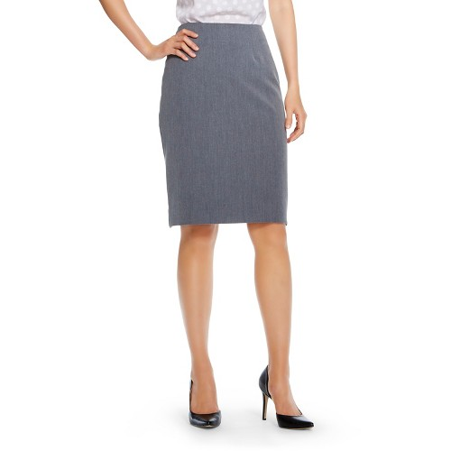 s bi stretch twill pencil skirt merona ebay