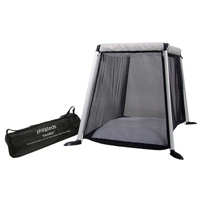 phil&teds Traveler Portable Crib - Black