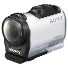 Sony HDR-AZ1 Mini Action Camera with Live View Remote Watch