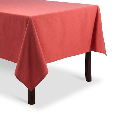 Coral Tablecloth 52x70