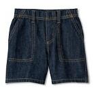 Toddler Boys Jean Short - Dark Blue