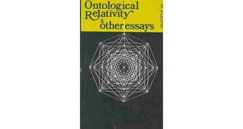 ontological relativity and other essays quine
